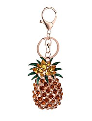 Fashion Alloy Inlaid With Pineapple Key Chain Wrap