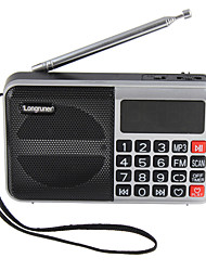 L-62 Portable Radio U Disk Card Elderly Walkman Alarm Clock Digital Song Song Large Screen Timing Shutdown