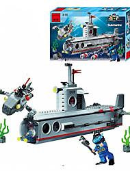 Building Blocks Block Minifigures Toys Ship Pieces Gift