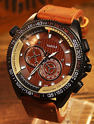 cheap -YAZOLE® Brand Men's Fashion  Quartz Alloy Night Light Watch (Assorted Colors) Wrist Watch Cool Watch Unique Watch