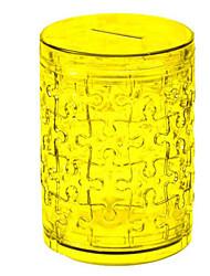 abordables -Puzzles 3D Puzzle Puzzles de Cristal Juguetes Circular Perros Torre Caballo Oso 3D Plásticos Unisex Piezas