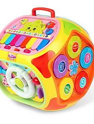 Недорогие -Обучающая игрушка Игрушечные музыкальные инструменты Круглый Мультяшная тематика Звезда Детские Универсальные