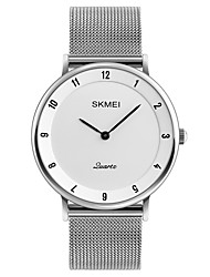cheap -SKMEI Men's Quartz Wrist Watch Japanese Water Resistant / Water Proof Stainless Steel Band Casual Dress Watch Minimalist Fashion Cool