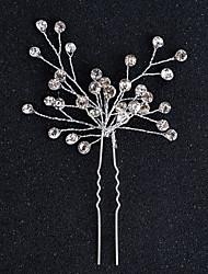 abordables -aleación cabello pinza casco fiesta de bodas elegante estilo femenino clásico