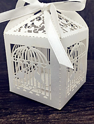 cheap -50pcs Laser Cut Birdcage Wedding Candy Box Sweets Gift  Box Wedding Supplies