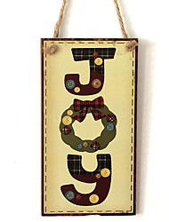 cheap -European and American wooden Christmas English letters are listed for Christmas Eve Christmas wood hanging board