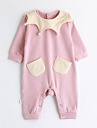 cheap -Baby Girls' Solid Colored One-Pieces