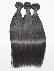 Brazilian Hair  Straight Human Hair Weaves Natural Color High Quality  Hair Extension