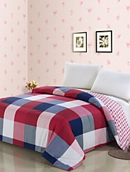 cheap -Comfortable 1pc Duvet Cover, 100% Polyester 100% Polyester Yarn Dyed 230TC Plaid/Checkered