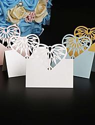 Marque-place(,Papier durci) -Thème jardin Thème classique Vacances Fête prénatale Mariage Naissance Famille Anniversaire Personnalisé