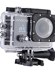 cheap -Andoer Q3H 2 Ultra-HD LCD 4K 25FPS 1080P 60FPS Wifi Cam FPV Video Output 16MP Action Camera 170Wide-Angle Lens with Diving 30-meter Waterproof Case