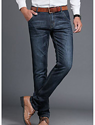cheap -Men's Slim Jeans Pants - Solid, Pure Color