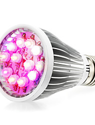 cheap -290-330lm E14 GU10 E26 / E27 Growing Light Bulb 12 LED Beads High Power LED Natural White UV (Blacklight) Blue Red 85-265V