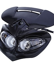 cheap -CARKING Universal LED Motorcycle Headlight Enduro Cross Lamp - Black