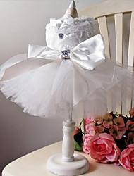 economico -Cane Vestiti Abbigliamento per cani Matrimonio Da principessa Costume Per animali domestici