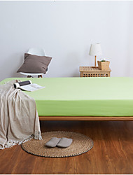 Solid Poly/Cotton Fitted Sheet