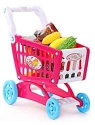 Brinquedos de Faz de Conta As compras na mercearia Conjuntos Toy Cozinha Carros de brinquedo Brinquedos friut Rapazes Peças