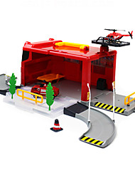 cheap -Toy Cars Vehicle Playsets Educational Toy Fire Engine Vehicle Toys Car Simulation Engineering Plastics Boys' 1 Pieces