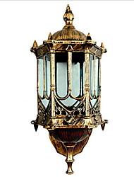 baratos -Vintage Para Vidro Luz de parede 220V 3W