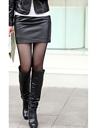 Women's Going out Mini Skirts Bodycon Solid Spring