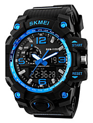 cheap -SKMEI Men's Quartz Wrist Watch Sport Watch Chinese Alarm Calendar / date / day Chronograph Water Resistant / Water Proof Noctilucent