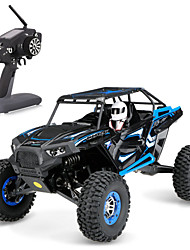 preiswerte -RC Auto WL Toys 2.4G SUV 4WD High-Speed Treibwagen Off Road Auto Monster Truck Bigfoot Klettern Auto Buggy (stehend) 1:10 Bürster