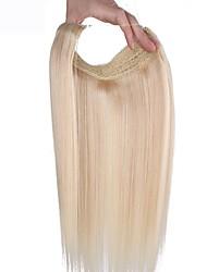 20 polegadas escondido fio secreto 100% linha de cabelo humano 100g