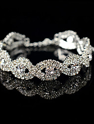 cheap -Women's Tennis Bracelet - Gray Pearl Flower Bracelet Silver For Wedding Party Engagement / Gift / Daily
