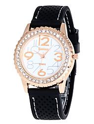 cheap -Women's Sport Analog Watch Ladies Fashion Dress Wristwatch Female Unique Luxury Casual Watch Quartz Creative Silicone Band Relogio Feminino