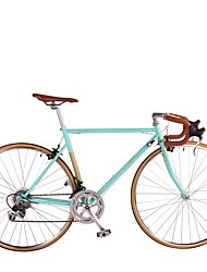 Горный велосипед Велоспорт 14 Скорость 26 дюймы/700CC Shimano Векторный ободной тормоз Без амортизации Стальная рама Съемный Алюминий