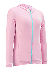 cheap -PGM Women's Long Sleeves Golf Hoodie Top Breathable Sunscreen Golf