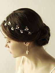 imitace perlové slitiny řetízky čelenky čelenka elegantní styl