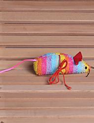 preiswerte -Katze Hund Katzenspielsachen Haustierspielsachen Plüsch-Spielzeug Maus Stoff Baumwolle Für Haustiere