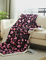 Super Soft Geometric Wool Blankets