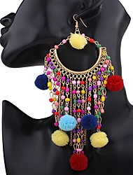 cheap -Women's Drop Earrings Earrings Set Tassel Personalized Handmade Fashion Bohemian Acrylic Resin Alloy Geometric Jewelry ForGift Casual