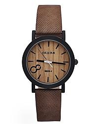 cheap -Men's Women's Wrist watch Casual Watch Wood Watch Sport Watch Military Watch Dress Watch Fashion Watch Chinese Quartz Water Resistant /