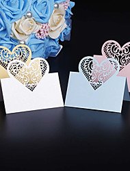 cheap -Card paper Table Center Pieces-Personalized Placecard Holders Piece/Set