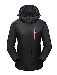 cheap -LEIBINDI Women's Hiking 3-in-1 Jackets Outdoor Winter Keep Warm Breathable Wearproof 3-in-1 Jacket Top Camping / Hiking Climbing Running