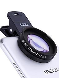 Orea Handy-Objektiv mit Selbstauslöser Clip 12.5x Makro 20mm Weitwinkel cpl externe Linse