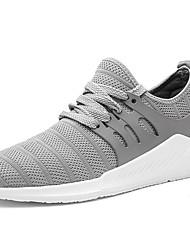 abordables -Homme Chaussures Tulle Printemps / Automne Confort Chaussures d'Athlétisme Course à Pied Noir / Gris / Bleu