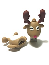 cheap -4GB Christmas USB Flash Drive Cartoon Christmas Deer Christmas Gift USB 2.0