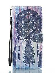 preiswerte -Hülle Für Samsung Galaxy Note 8 Kreditkartenfächer Geldbeutel mit Halterung Flipbare Hülle Magnetisch Muster Ganzkörper-Gehäuse