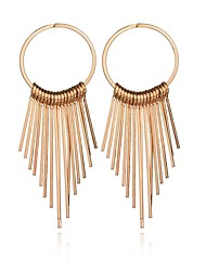 cheap -Women's Drop Earrings - Tassel, Fashion Gold / Silver For Daily / Casual / Evening Party
