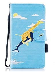 cheap -Case For Huawei P10 Lite Card Holder Wallet with Stand Flip Magnetic Pattern Full Body Cases Animal Hard PU Leather for P10 Lite P8 Lite
