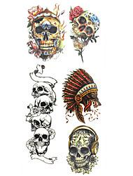 Недорогие -1 pcs Временные тату Временные татуировки Тату с тотемом Водонепроницаемый Искусство тела руки / рука / запястье