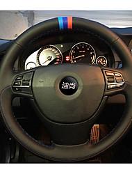 Automotivo Capas para Volante(Couro)Para BMW Todos os Anos Civic X3 X5 320I Série 3 Série 5 X6 X4