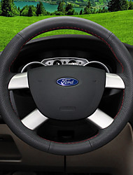 Automotivo Capas para Volante(Couro)Para Ford Todos os Anos Todos os Modelos