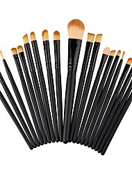 cheap -20pcs Foundation Brush Powder Brush Fan Brush Eyelash Brush Eyeliner Brush Brow Brush Eyeshadow Brush Blush Brush Makeup Brush Set Nylon