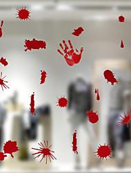 Недорогие -наклейки на окровавленные стены наклейки на Хэллоуин