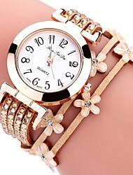 Mulheres Crianças Relógio de Moda Bracele Relógio Relógio Casual Chinês Quartzo Cronógrafo Impermeável PU Banda Criativo Casual Elegant